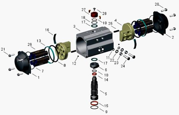 海口气动执行器-气动执行器-电动执行器|电动阀|常州